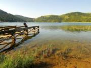 Abant Gölünde Balıkçılık